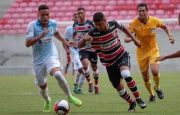 Santa Cruz estreia com derrota na Copa do Nordeste Sub-20 e treinador entrega cargo