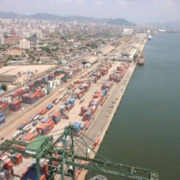 Área de armazéns no Porto de Santos é leiloada por R$ 112,5 milhões