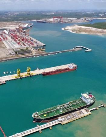 Movimentação do Porto de Suape tem crescimento de 16,7% em 2020