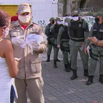 Operação no bairro de Afogados promove conscientização para prevenir a Covid-19