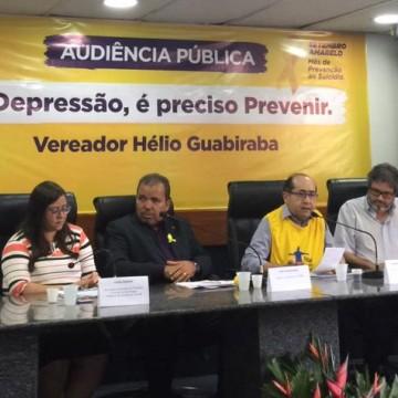Câmara Municipal do Recife realiza audiência pública em alusão ao Setembro Amarelo