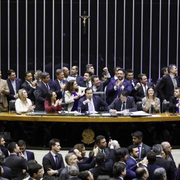 Aprovação do projeto da reforma contou com apoio da maioria dos votos dos representantes do Nordeste