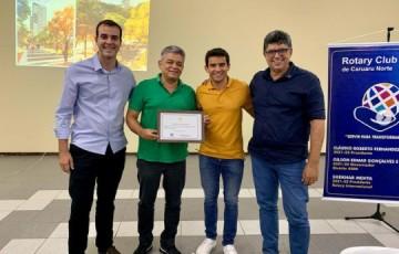 Rotary Club Caruaru-Norte recebe palestra da Unique