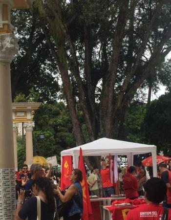 Manifestações em defesa do meio ambiente e outras reivindicações movimentam o Recife