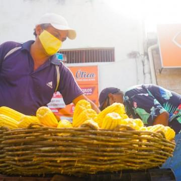 Corredores do Milho começam a funcionar em Olinda