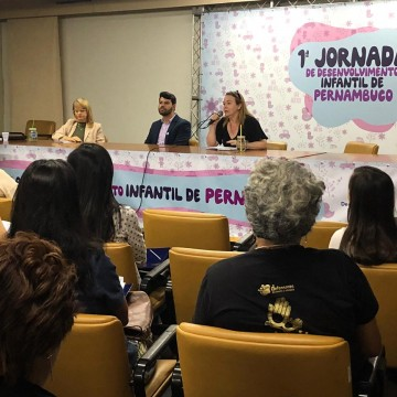 Pernambuco realiza 1ª Jornada de Desenvolvimento Infantil