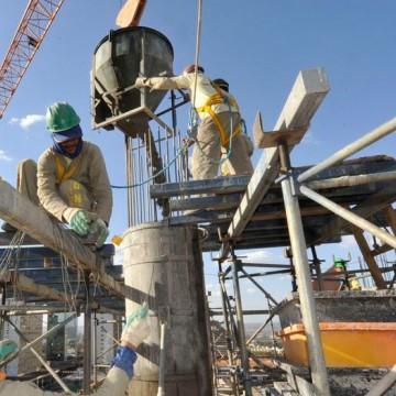 Indústria da construção em PE mantém participação de 2,9% no total do país