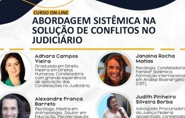 Abertas inscrições para curso online de abordagem sistêmica na solução de conflitos no judiciário