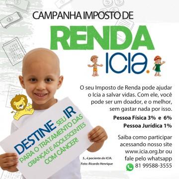 ICIA Lança campanha do imposto de renda 20