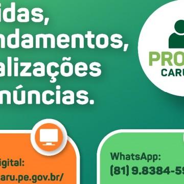 Procon Caruaru reforça o uso de canais digitais para agendamentos, denúncias e reclamações