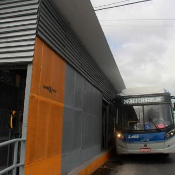 Estação de BRT transitória começa a funcionar na cidade de Camaragibe