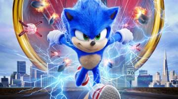 Filme do Sonic bate recorde de estreia de para adaptação de um game