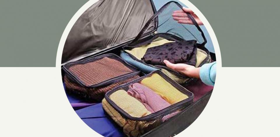 Você sabe ser prática na hora de montar uma mala?
