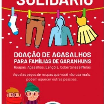 'Varal Solidário' arrecada itens de inverno para doações em Garanhuns