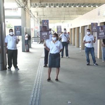 Rodoviários protestam por mortes de colegas pela Covid-19