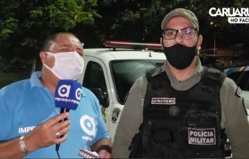 Bandidos cometem assalto no distrito industrial de Caruaru