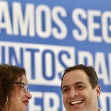 Paulo Câmara viaja para Singapura e Luciana Santos assume o governo