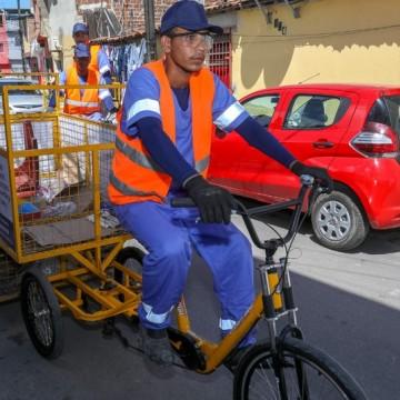 Trabalhadores da Coleta Seletiva ficam feridos após acidente