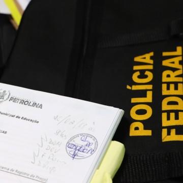 Operação da PF investiga desvio de recursos públicos no município de Petrolina