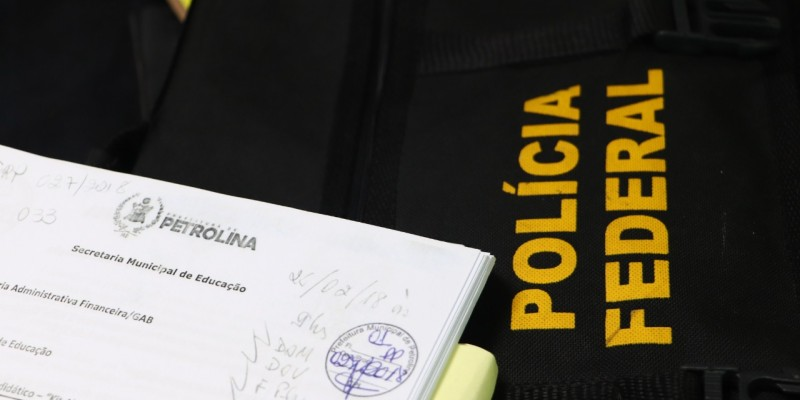 Segundo o delegado, as contratações passavam de 20 milhões de reais