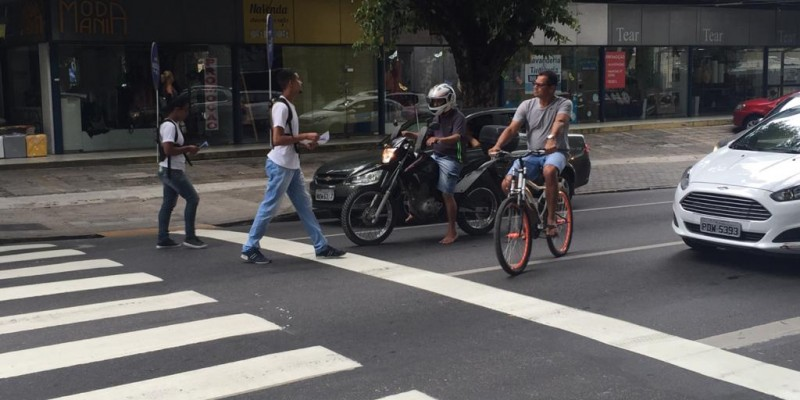 A principal mudança acontece entre as ruas Esmeraldino Bandeira e João Ramos, que formarão um binário