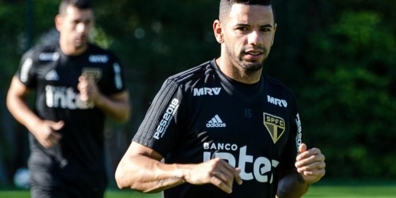 Jogador vem por empréstimo da equipe do São Paulo até o fim da Série B