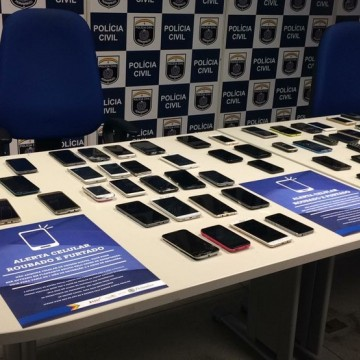 Programa Alerta Celular devolve 30 mil telefones