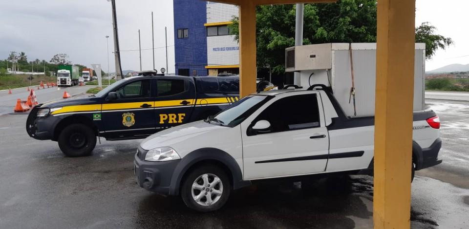 Caminhonete roubada em São Paulo é recuperada pela PRF em São Caetano