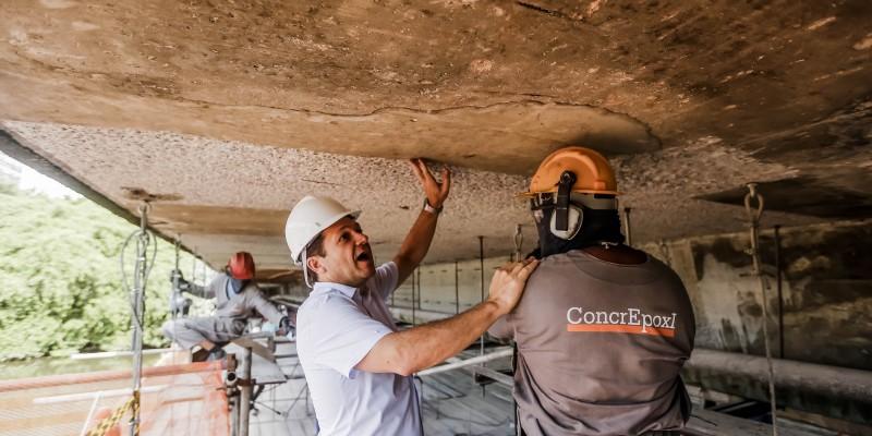 As intervenções nos importantes trechos de ligação de áreas de Recife, preveem a restauração das estruturas, totalizam um investimento de R$ 11.1 milhões