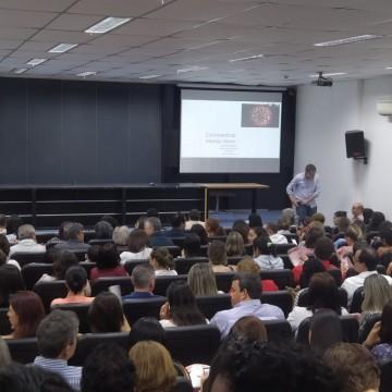 Profissionais da saúde de Pernambuco recebem capacitação sobre o coronavírus