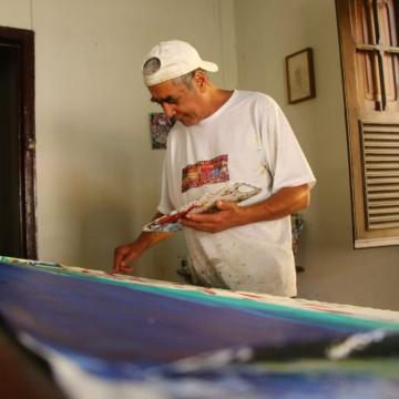 Corpo do artista plástico José Carlos Sarmento é sepultado em Paulista