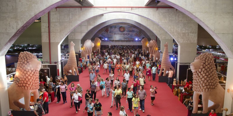A Feira acontece entre os dias 07 e 18 de julho