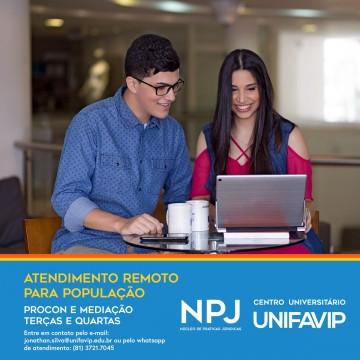 UniFavip oferece atendimento jurídico gratuito, em Caruaru