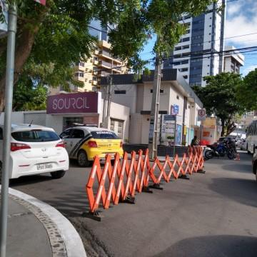 Trecho na Avenida Marcionilo Francisco em Caruaru é interditadonesta terça-feira (6)