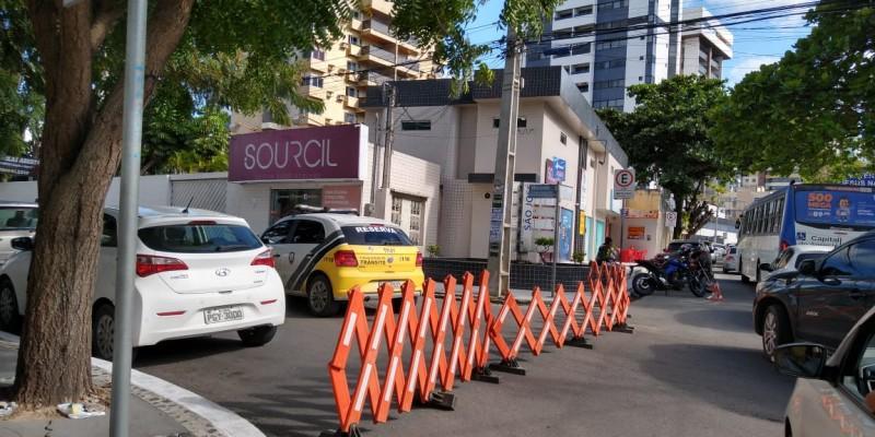 A linha de ônibus 309 (Rendeiras/Ceaca) entrará na Rua Ana Maria da Silva Brasileirinho (Rua da Fusam)