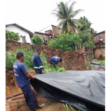 Defesa Civil de Olinda executa operação nos morros da cidade