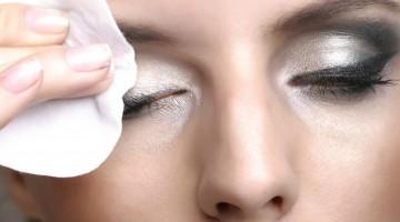 Não durma com maquiagem na pele!