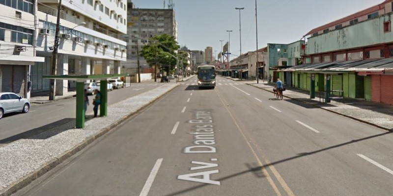 Um trecho da avenida fica interditado até o fim do carnaval