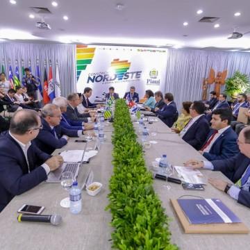 Governadores do Nordeste lançam carta de Teresina