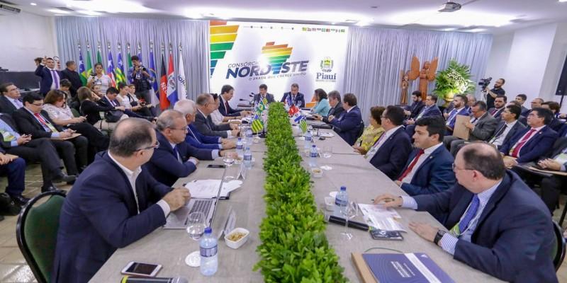 Consórcio do Nordeste avança em negociações para ações conjuntas entre os estados