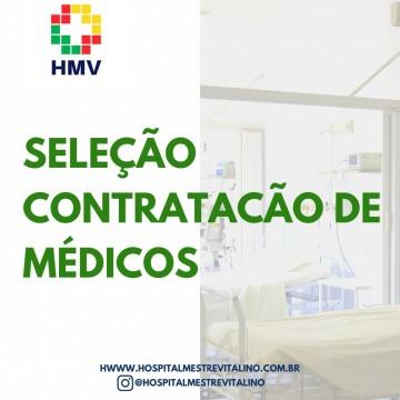 HMV abre processo seletivo para contratação de Médicos