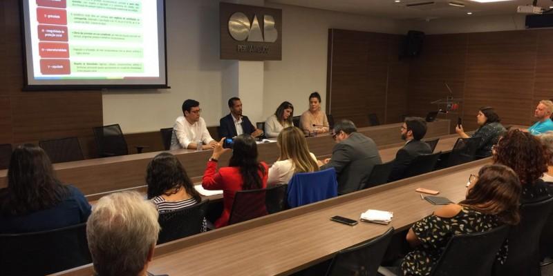 O encontro é realizado pela Organização Não Governamental Visão Mundial em Parceria com a OAB-PE, UFRPE, Cáritas e Unicef