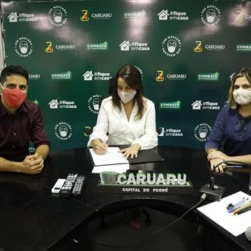 Prefeitura de Caruaru assina ordem de serviço da requalificação da Estação Ferroviária