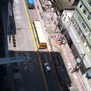 Obras causam modificações temporárias em paradas de ônibus na Conde da Boa Vista