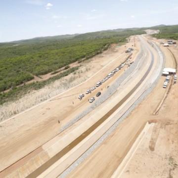 Bolsonaro chega esta quinta a Pernambuco para mais uma inauguração do Ramal do Agreste