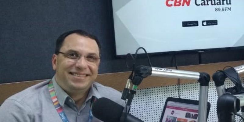 Na revista eletrônica de todas as tardes na CBN Caruaru, Almir tratou de muitos assuntos com especialista convidados
