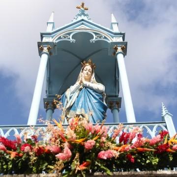 Fiéis celebram devoção à Nossa Senhora da Conceição