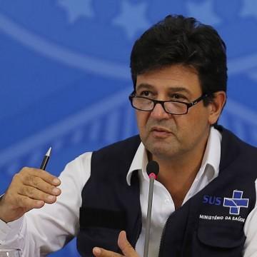 Autoridades de saúde em PE reprovam demissão de Mandetta