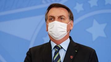 Bolsonaro está com covid-19