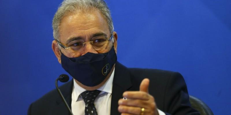 Marcelo Queiroga fez pronunciamento nesta quarta-feira